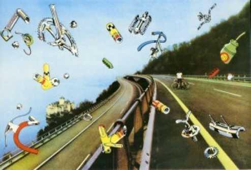 Pink Floyd Knebworth Poster  1975