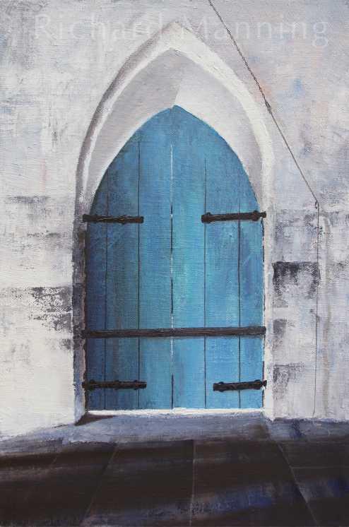 Church Door France