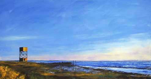 Estuary Low Tide